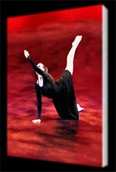 Canvas Print of Dancer