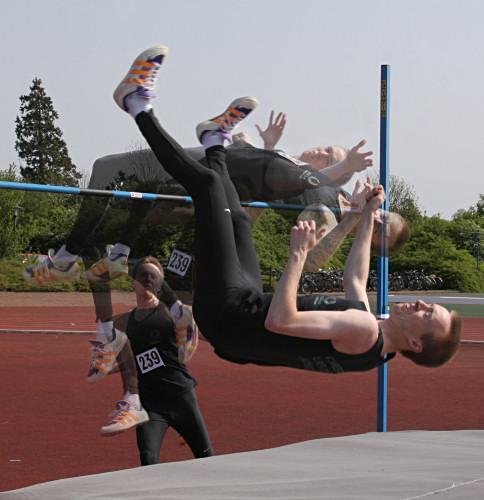 Andy Bennett - High Jump