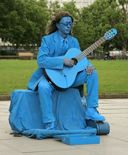 The Blues - Street Performer
