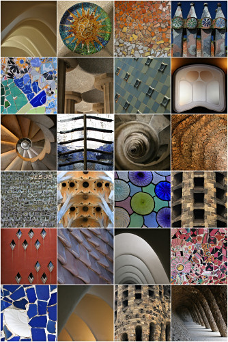 Colour & Form - Gaudi