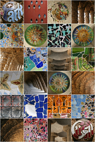 Colour & Form - Park Guell
