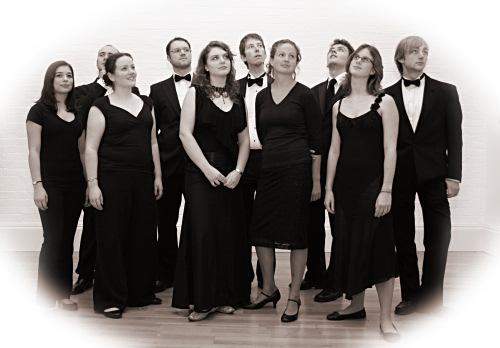 Cadenza singers, sepia pose