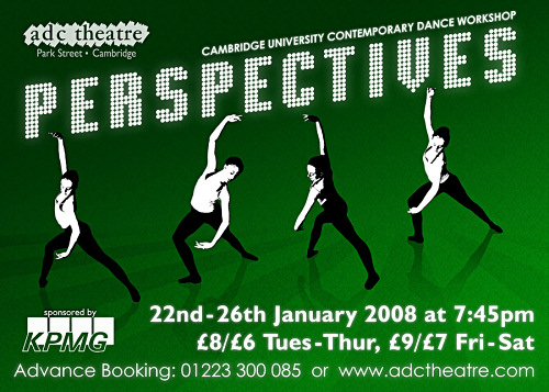 Perspectives - ADC CUCDW Dance Show Poster