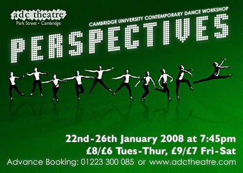 Perspectives - ADC CUCDW Dance Show Flyer Front