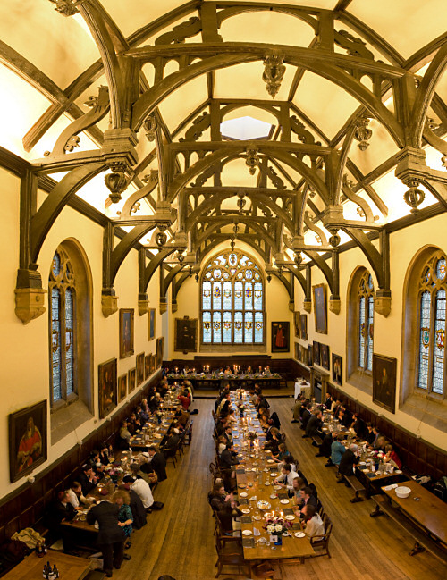 Dining Hall, Wadham College, Oxford