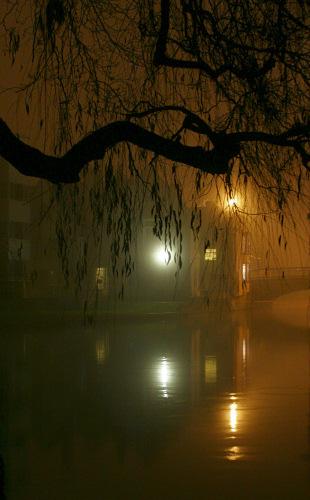 Magdalene Bridge at Night