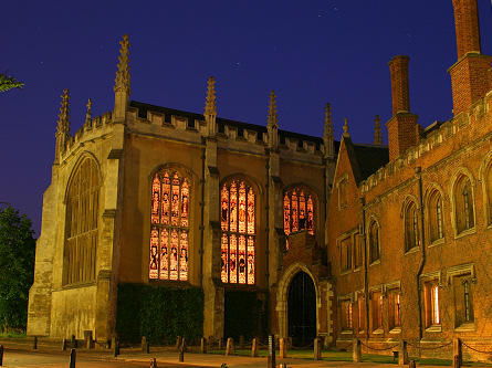 Trinity Chapel at Night