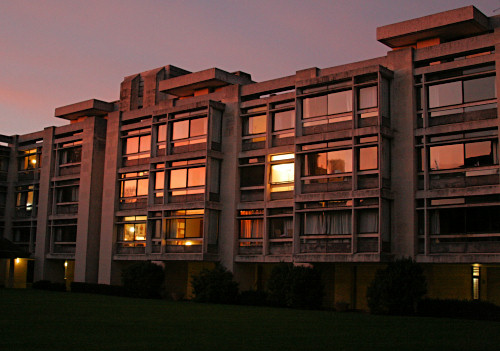 Cripps Building at Sunset