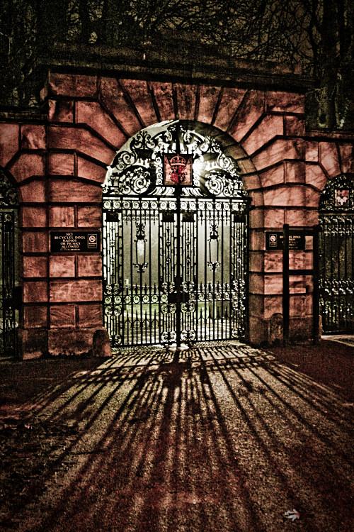 Kings Gate at Night