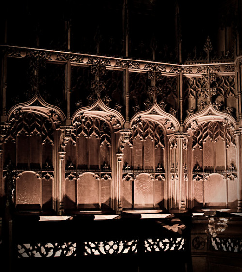 Selwyn Chapel by Candle-light