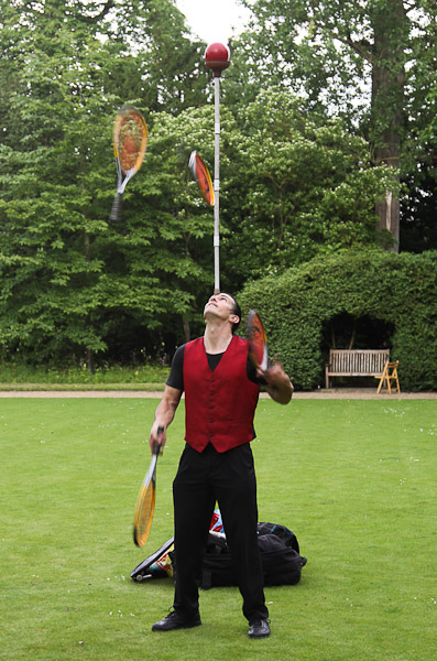 John Nations, Juggler