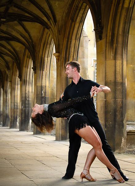 Salsa Dancers, Cambridge University