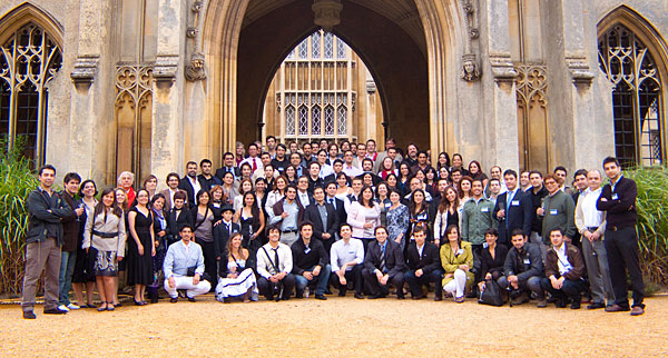 Cambridge Conference Group Photo