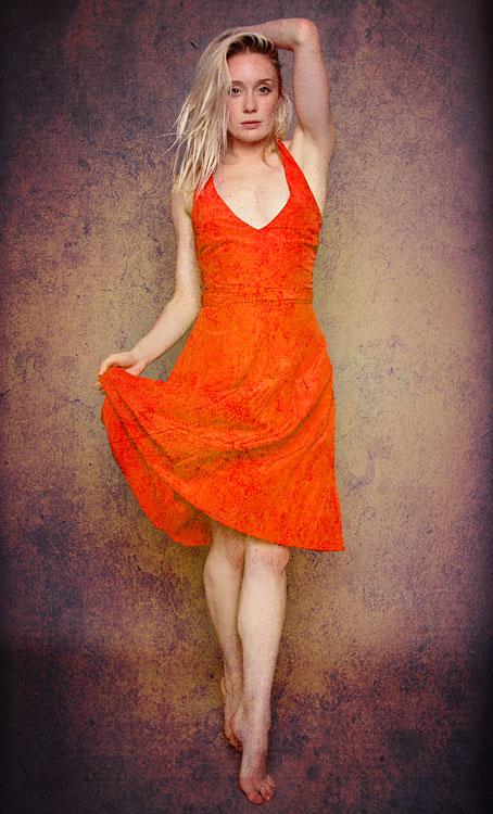 Katy Red Dress