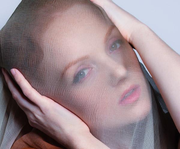 Ivory Flame - Veiled Portrait
