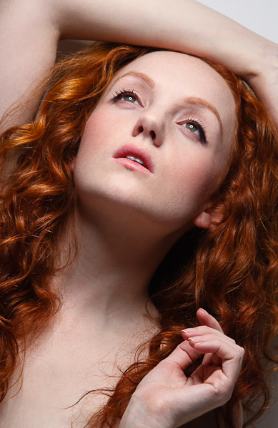 Ivory Flame - Redhead Portrait