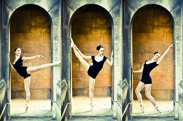 Ballerina in Arch