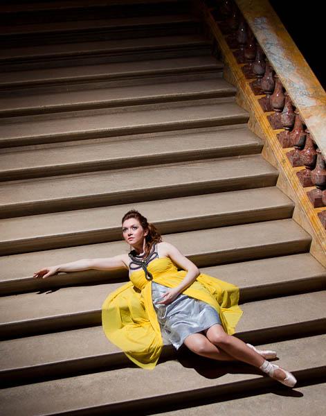 Ballet Fashion - Sunray Dress