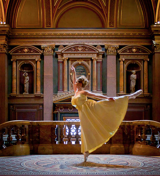 Ballet Fashion - Yellow Dress
