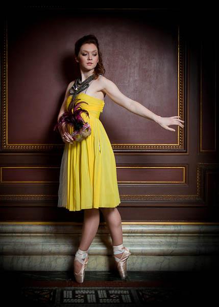 Ballet Fashion - Juliet at the Masquerade Ball