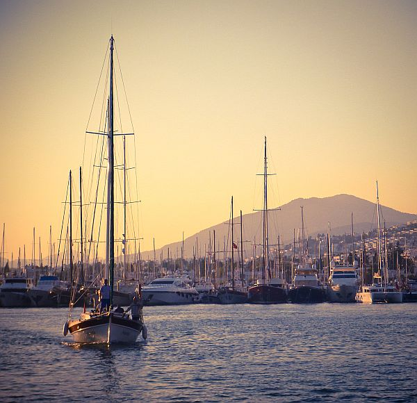 ...and inside the Marina...