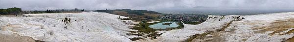 360 Panorama of Pamukkale